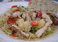 Chicken Pasta Primavera Blog