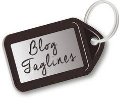 Blog taglines
