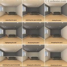Dark room colors and lively wall color, which visually ver . - Dark room colors and vivid wall color, which visually change the interior dimensions – Dark room - Painting Walls Tips, Room Wall Painting, Home Painting, Paint Walls, Interior Design Tips, Interior Paint, Home Interior Colors, Design Ideas, Interior Logo