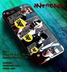 Samsung Galaxy S5/S4/S3 iPhone 4/4s/5/5c/5s 5sos case  | LovePeaceCaseStore - Accessories on ArtFire