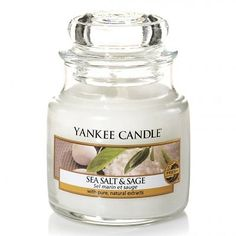 Yankee Candle Sea Salt & Sage - Small Jar