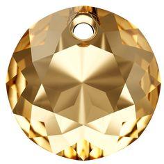 SWAROVSKI® 6430 Classic Cut Pendant (001 GSHA Crystal Golden Shadow) Swarovski, Table Lamp, Crystals, Lighting, Pendant, Classic, Innovation, Spring Summer, Home Decor