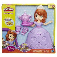 "Play-Doh Disney Sofia the First Tea Party Set - Hasbro - Toys ""R"" Us"