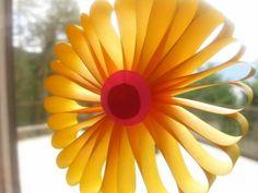 fleurs,papier,pliage,bricolage enfants,recyclage