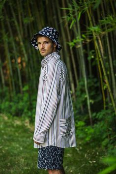 Thaddeus O'Neil Spring 2019 Menswear Fashion Show Collection: See the complete Thaddeus O'Neil Spring 2019 Menswear collection. Look 13