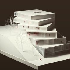 Unbelievable Modern Architecture Designs – My Life Spot Conceptual Model Architecture, Layered Architecture, Maquette Architecture, Modern Architecture Design, Modern Buildings, Tectonic Architecture, Loft Interiors, Arch Model, Design Model
