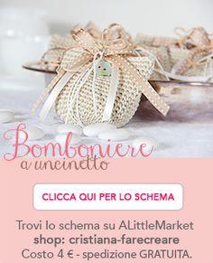 #bomoboniere a #uncinetto schema in Italiano.