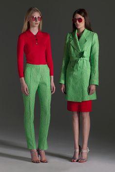 Jonathan Saunders Resort 2013 Fashion Show - Julia Nobis, Maria Bradley