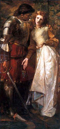 William Gorman Wills (1828-1891), Laertes and Ophelia.