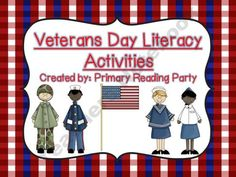 Veterans Day Literacy Activities product from Primary-Reading-Party on TeachersNotebook.com