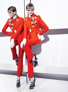 Gabor Jurinas Out On A Limb for Fashion Magazine September 2012 | Trendland: Fashion Blog & Trend Magazine