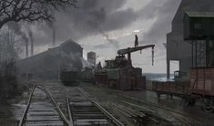 Rail Yard - Characters & Art - Assassin's Creed Syndicate