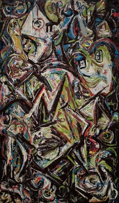 "Find the latest shows, biography, and artworks for sale by Jackson Pollock. Major Abstract Expressionist Jackson Pollock, dubbed ""Jack the Dripper""… Abstract Artists, Abstract Expressionist Art, Expressionist Art, Museum Of Fine Arts, Action Painting, Abstract Art, Art, Abstract, Famous Art"