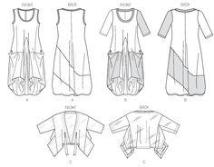 super šatyV8975 Vogue sewing pattern