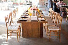 Decor of my wedding / family table - decoração do meu casamento / mesa da família