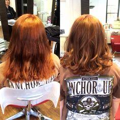 #colorcorrection #hair #hairstyle #instahair #TagsForLikes #hairstyles #haircolour #haircolor #style #hairoftheday  #copperhair