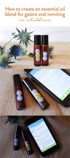 How To Create An Essential Oil Blend for Gastro & Vomiting In Children - The Whole Daily