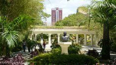 Jardines del Parque el Calvario. Caracas