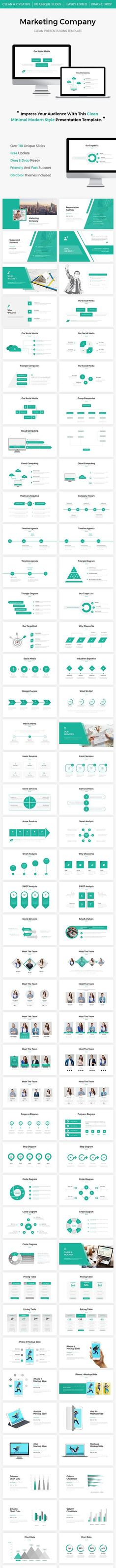 Marketing Company Powerpoint Template for $17 #GraphicDesign #powerpoint #BusinessPowerPointTemplate #PresentationTemplates #set #business #EnvatoMarket #GraphicDesigner #PresentationDesign #template #ppt #PPTTemplates #DesignCollection #PowerPointTemplate #graphics #collections #design #GraphicResources #DesignSets #presentation Business Presentation, Presentation Design, Presentation Templates, Cool Themes, Business Powerpoint Templates, Vector Shapes, Branding Design, Graphic Design, Marketing