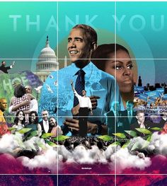 When Trump leaves office, we won't thank him, we'll thank God. Black Presidents, Greatest Presidents, American Presidents, American History, American Art, Barrack And Michelle, Michelle And Barack Obama, First Black President, Our President