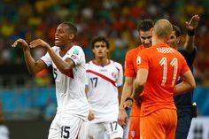 Pour Junior Diaz, Robben a plongé !