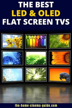 Choosing a new TV can be difficult. There are so many options, it can make your head spin. If you need some help, take a look at my buying guide to the best OLED & LED flat screen TVs. Smart Televisions, Tvs, Surround Sound Speakers, Home Theater Setup, Best Flats, Home Cinemas, Spin, Flat Screen, Make It Yourself