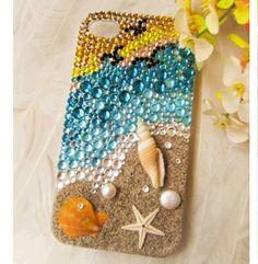 Handmade Sea Shell Case Custom Cover for Samsung Iphone