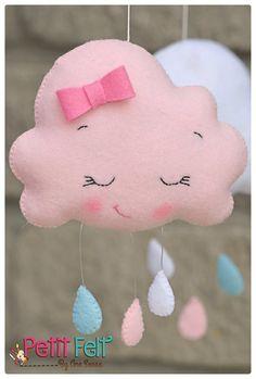 Nuvem rosa; …