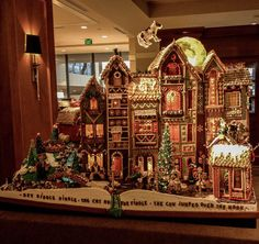 Check Out Sheraton Seattle's 21st Annual Gingerbread Village - Holiday Archite-Cheer