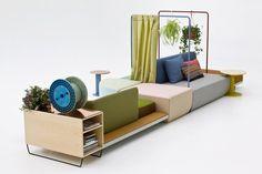 werner aisslinger: bikini island for moroso #Furniture #Seat #Storage