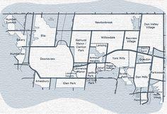 North York Map