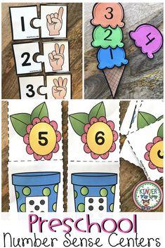 Number Sense Activities for 1 - 30 Number Sense Activities, Fun Math Activities, Numbers Preschool, Preschool Math, Teaching Kindergarten, Preschool Ideas, Teaching Ideas, Teaching Resources, Everything Preschool