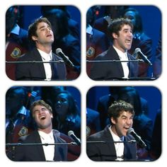 Darren performing Not Alone at Obama's Inauguration I DID NOT KNOW THIS WAS HAPPENING?!