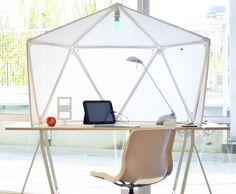 atmos, olero design, olero, cubicle, modern cubicle, green furniture, sustainable design, green design, geodesic, space divider, desk, workspace, green furniture, sustainable furniture, green products