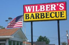 Wilbers's BBQ Goldsboro, NC.... Would LOVE some hush puppies and gravy right now!!!!