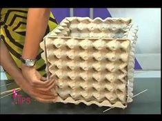 Concrete draping tutorial tests of 8 kinds of different fabrics amp fibres for portland cement dipping to make draped concrete pots or characters – ArtofitGorgeous textured round and square concrete planters made with silicone molds. Concrete Crafts, Concrete Garden, Concrete Planters, Diy Crafts To Sell, Diy Crafts For Kids, Home Crafts, Egg Carton Crafts, Cardboard Crafts, Fabric Crafts