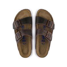 Birkenstock Arizona Soft Foot Bed - Habana Oiled Leather