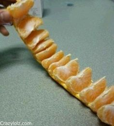 peeling an orange like a boss cut or pull the top and bottom circles - How To Preserve Celery