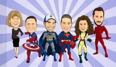 Super+Group+Caricatures+for+Greg
