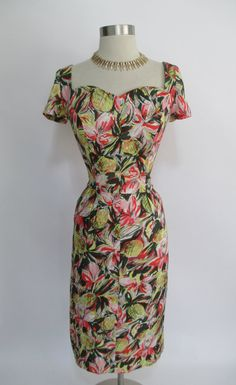 1950's Pencil Skirt Dress