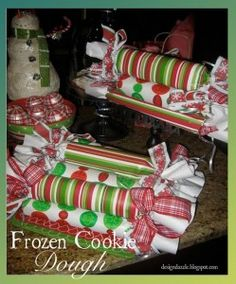 """Cookie Dough gift - """"Everyone needs a little extra DOUGH for Christmas!"""""""