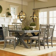 Powell Turino Dining Table - Dining Tables at Hayneedle