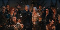 Witcher 3 cast