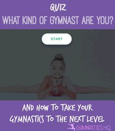 List of gymnastics skills you can practice at home with your home what kind of gymnast are you take the quiz to find out fandeluxe Choice Image