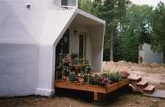 Geodesic Dome Home Entryways & Dormers | AiDomes
