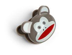 Kikkerland Design Inc » Products » Bag Clips 6 Set + Monkeys