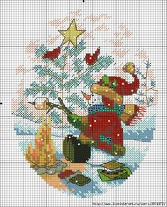 Point de croix *<3* Cross stitch- Christmas