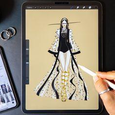 Fashion Illustration Tutorial, Fashion Drawing Tutorial, Fashion Figure Drawing, Fashion Drawing Dresses, Fashion Illustration Dresses, Illustration Mode, Fashion Illustrations, Fashion Model Sketch, Fashion Design Sketchbook