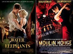 TRUTH: Water For Elephants = Moulin Rouge.