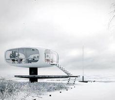 Ulrich Müther, Beachwatch Rescue Tower, Binz, Rügen Island, Germany, 1968